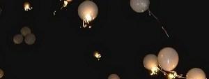 Spust helijevih balonov - romantično presenečenje z baloni